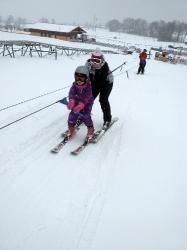 MŠ - lyžování Javorník 2018